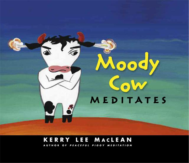 Book cover for Moody Cow Meditates
