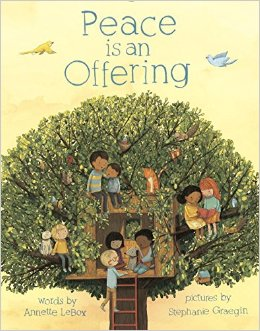 Book cover for Peace is an Offering