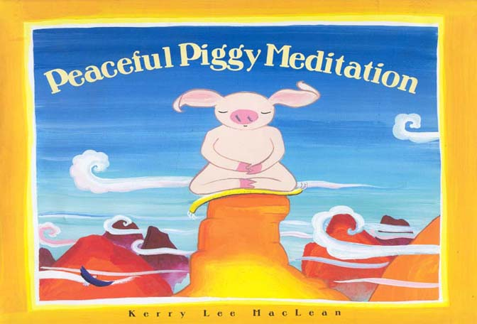 Book cover for Peaceful Piggy Meditation