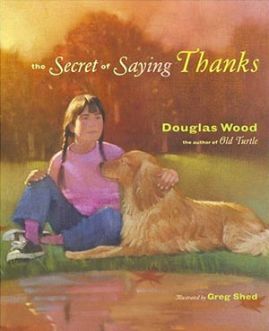 Book cover for The Secret of Saying Thanks