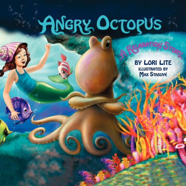 Book cover for Angry Octopus