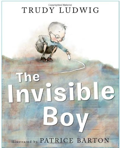 Book cover for The Invisible Boy