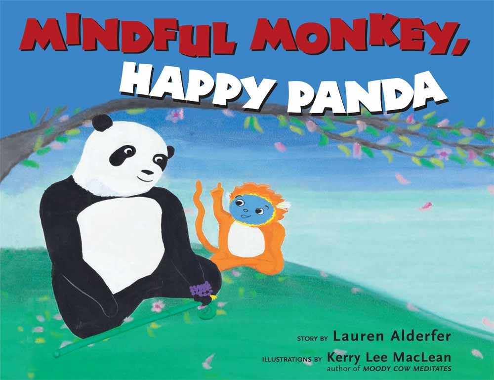 book cover for Mindful Monkey. Happy Panda.