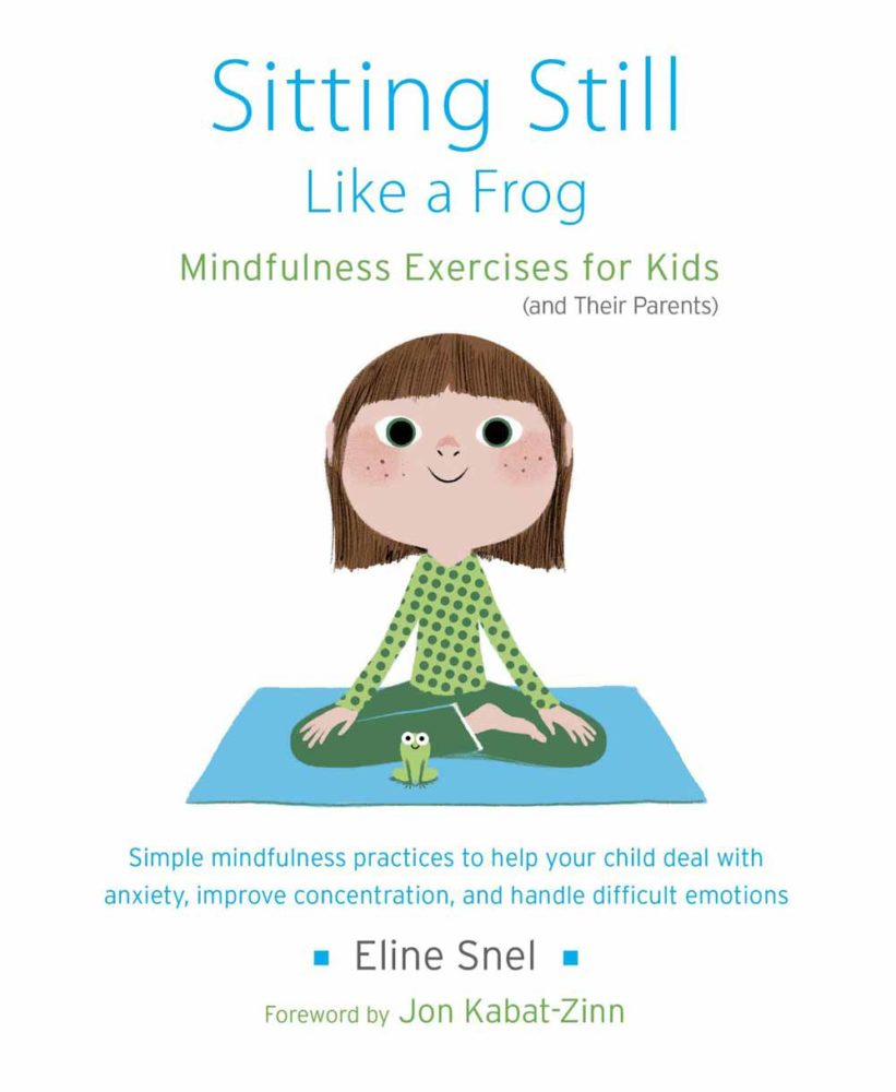 Book cover for Sitting Still Like a Frog