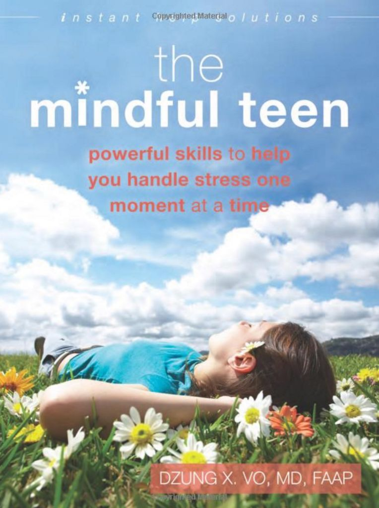 Book cover for The Mindful Teen