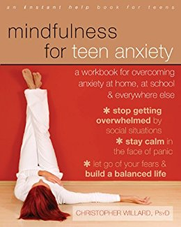 Book cover for Mindfulness for Teen Anxiety