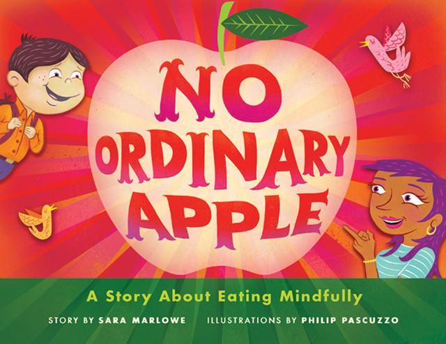 Book cover for No Ordinary Apple