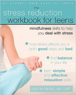 Book cover for The Stress Reduction Workbook for Teens