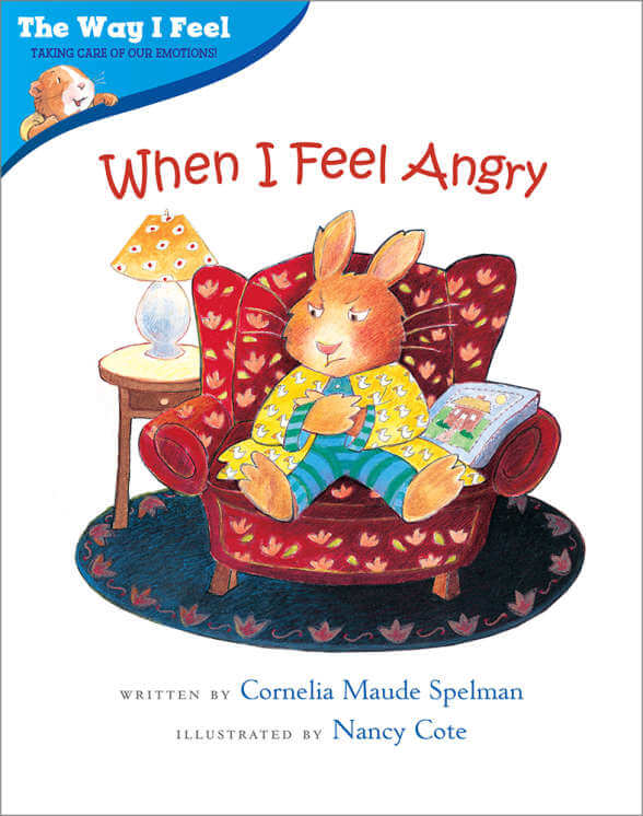 Book cover for When I Feel Angry