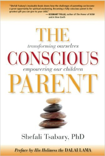 Book cover for The Conscious Parent