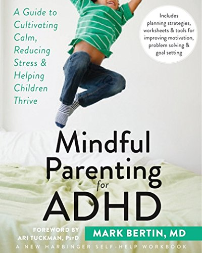 Book cover for Mindful Parenting for ADHD